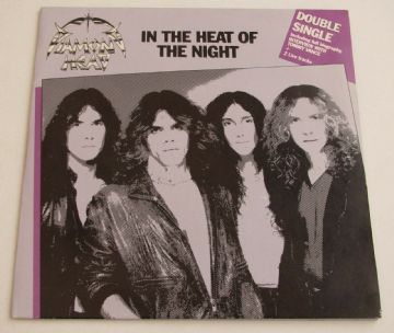 "DIAMOND HEAD In The Head Of The Night UK 2 X 7"" P/S NWOBHM MINT MINUS AUDIO"